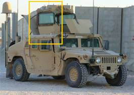 military defense and public safey with mesh networks, Iraq