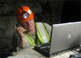 MeshDynamics VOIP test in underground mine